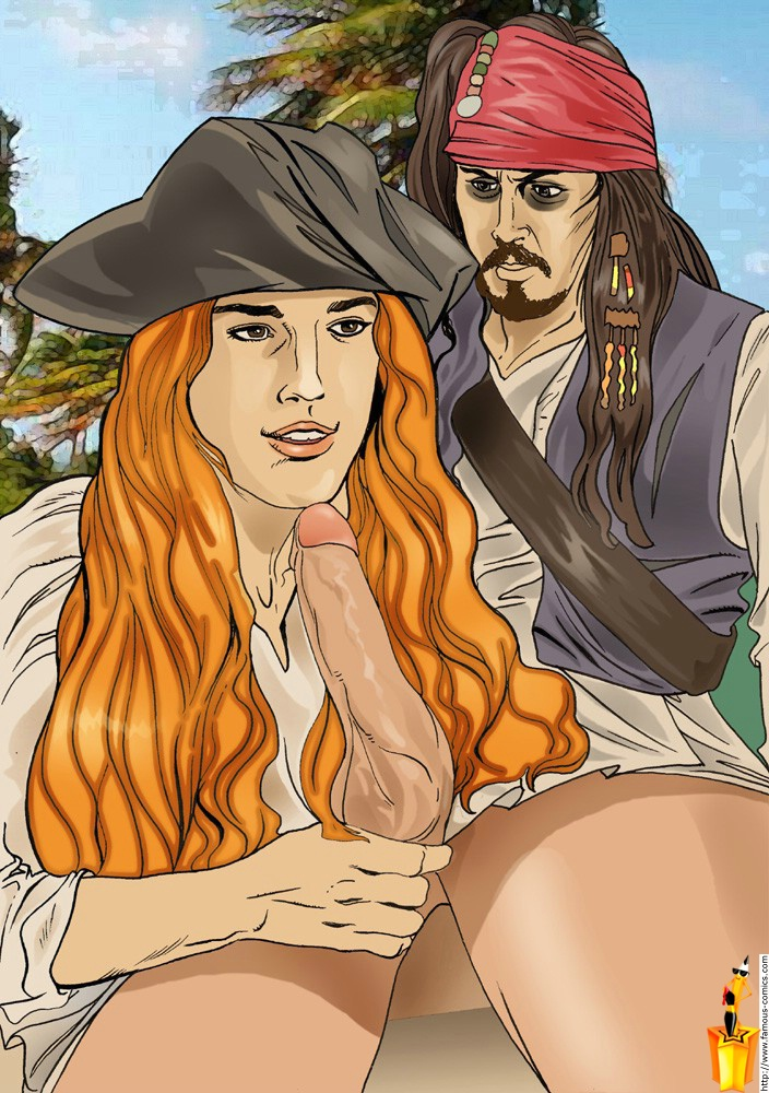of porn caribbean pirates comic the Rick and morty jessica tits