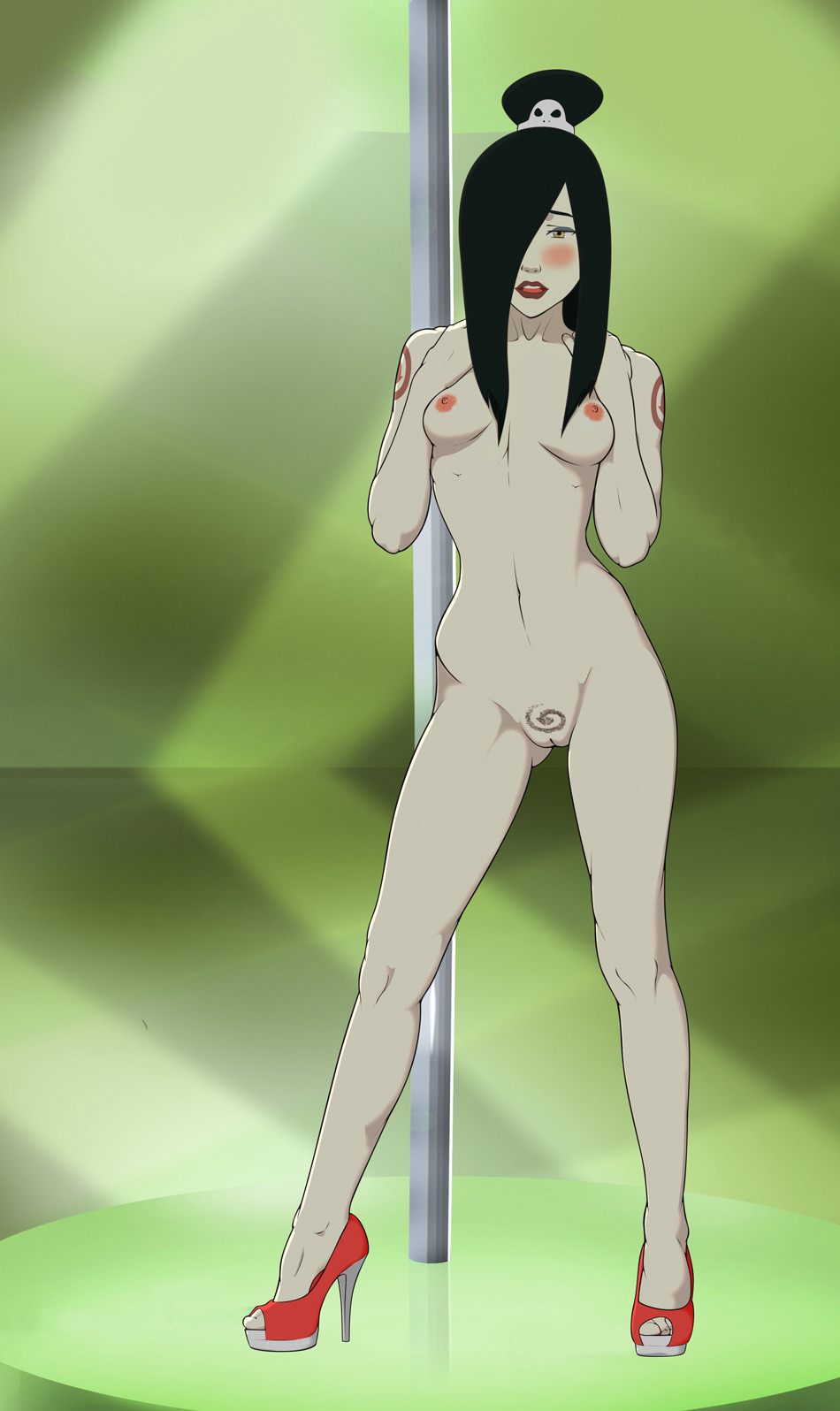 airbender the avatar last naked Naked girls in thigh highs