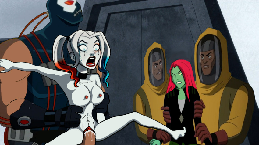 harley joker naked quinn with Prince gumball and princess bubblegum
