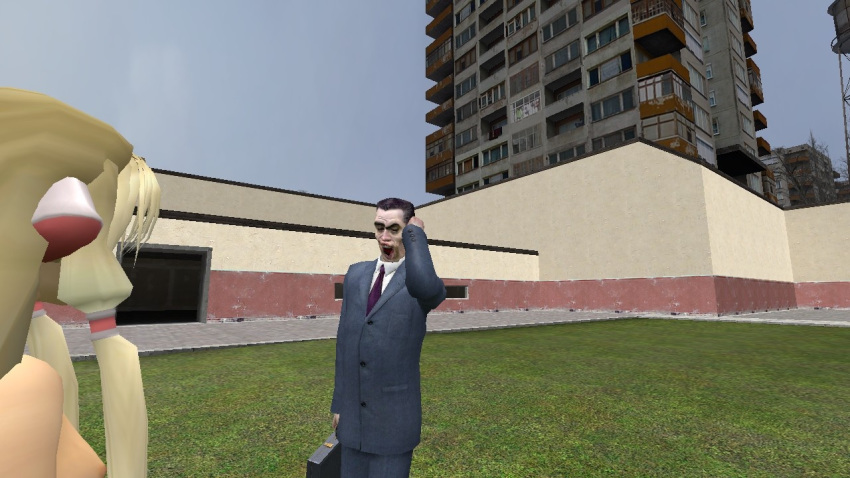 half-life g-man Trials in tainted space galomax
