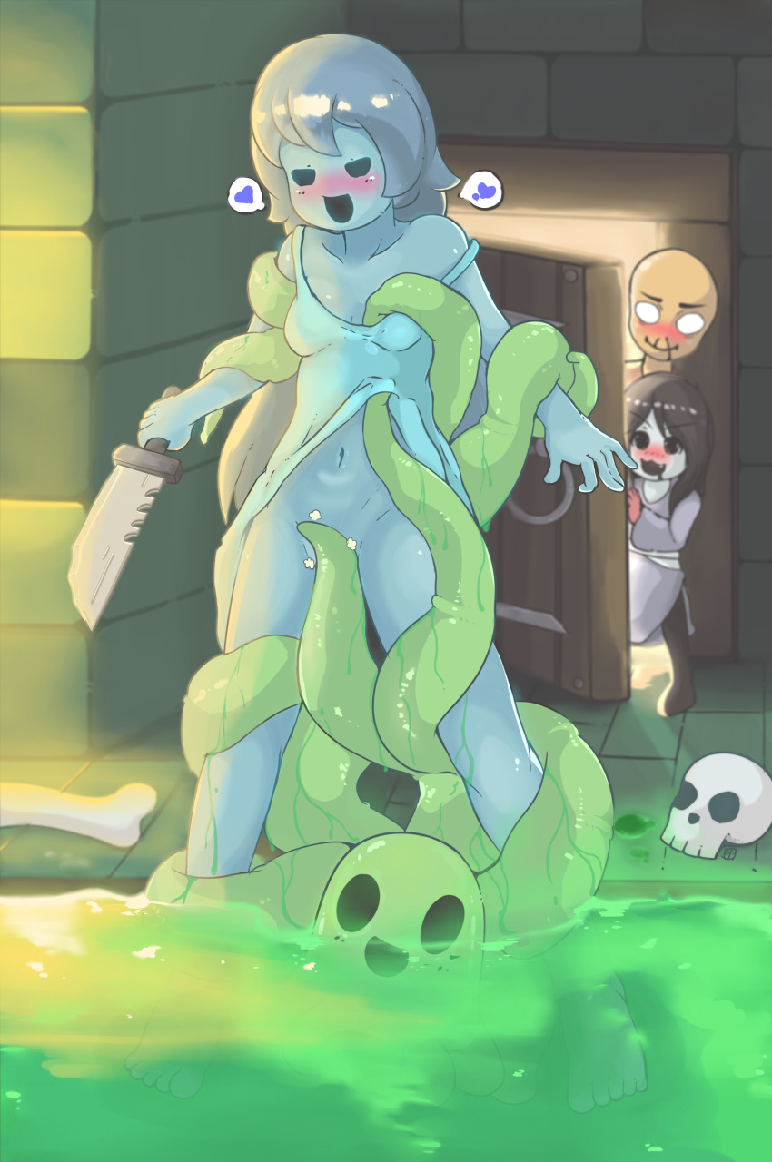 house ghost of spooky's jumpscares Yu yu hakusho cat girl